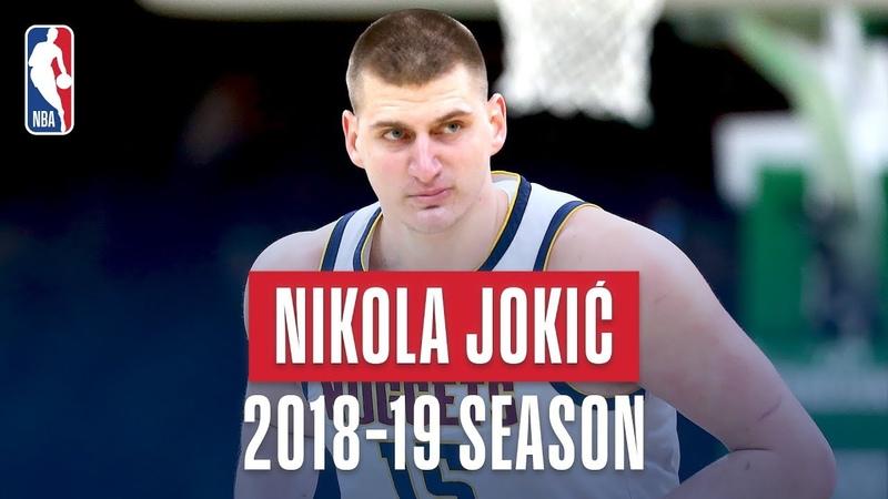 Nikola Jokic's Best Plays From the 2018-19 NBA Regular Season NBANews NBA Nuggets NikolaJokic