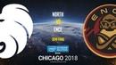 North vs ENCE IEM Chicago 2018 EU Quals map1 de overpass GodMint
