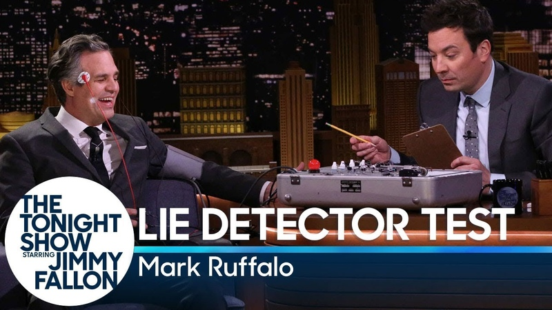 Jimmy Grills Mark Ruffalo About Avengers Endgame with a Lie Detector Test