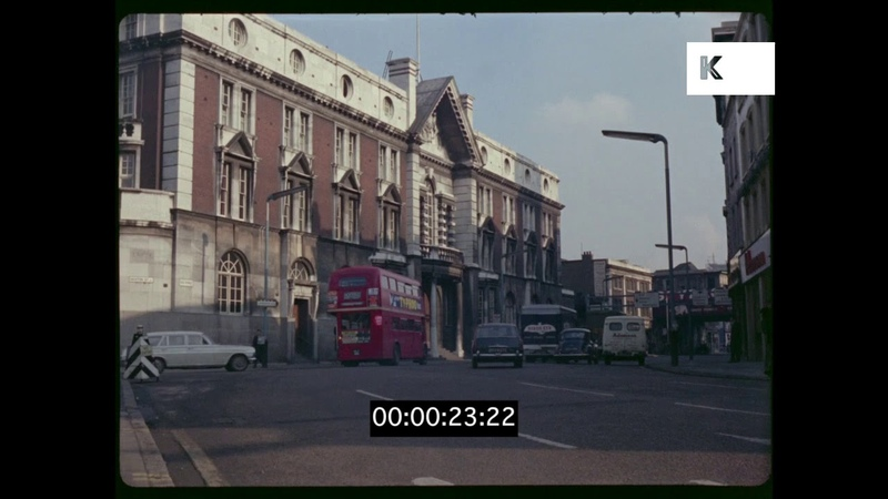 Old Street Magistrates Court 1960s Shoreditch London 35mm