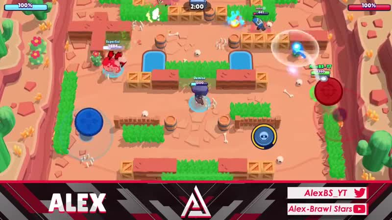 Alex Brawl Stars Barley VS Dynamike Brawler Comparison To Find Out Who Is The Best Thrower In Brawl Stars