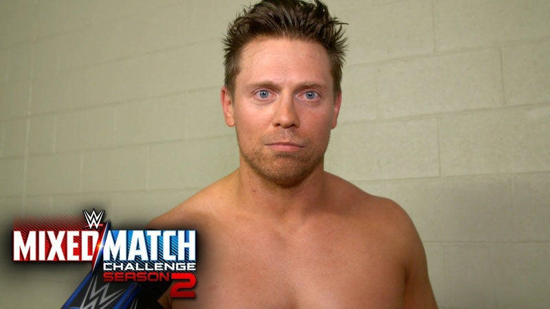 [BMBA] The Miz blames Asuka for their Mixed Match Challenge loss