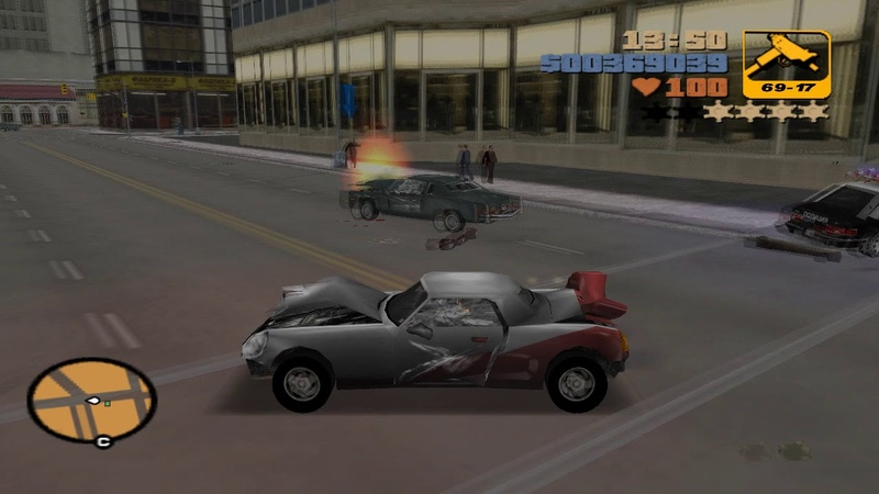 Grand Theft Auto III — 28 Two-Faced Tanner