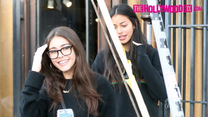 Madison Beer Cindy Kimberly Gossip Girl Talk Over Lunch At Alfred's On Melrose Place 12 31 18