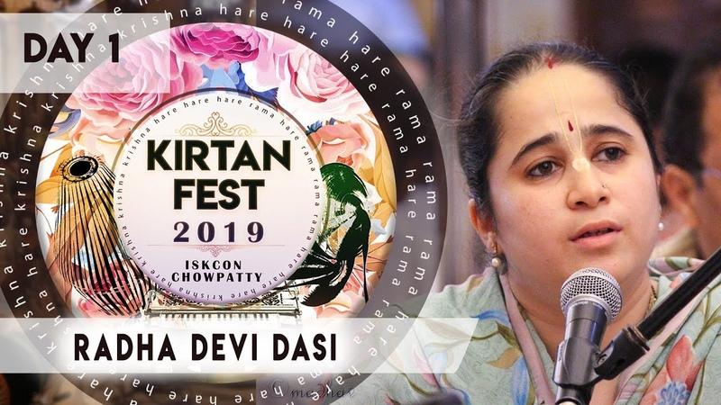 Kirtan Fest 2019 | Day 1 Kirtan | Radha Devi Dasi | ISKCON Chowpatty