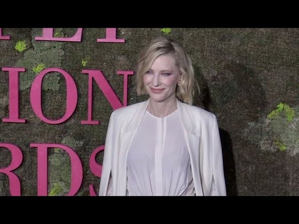 Cate Blanchett on the red carpet for the Green Carpet Fashion Awards in Milan