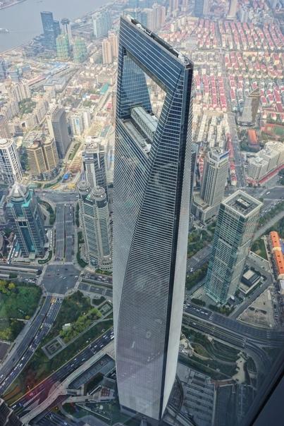 Шанхайский Всемирный Финансовый Центр - SWFC (Shanghai World Financial Centre