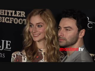 Caitlin fitzgerald and aidan turner the man who killed hitler and then the bigfo