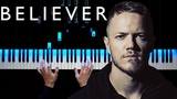 Imagine Dragons - Believer Piano tutorial Sheets
