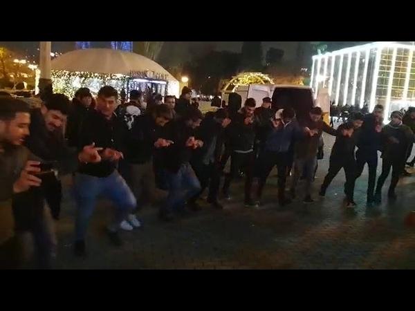 Ərəblərin Bakı Bulvarında yeni il şənliyi Bakı Bulvar yeniil Bayram