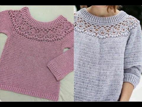 Blusão de crochê P M G