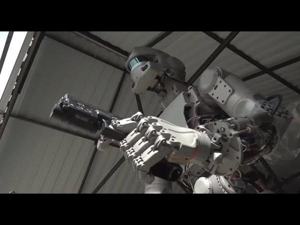 Russian Terminator Robot Fedor Artificial Intelligence Robot Fedor !!