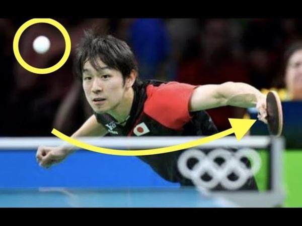 【卓球】まるで舐めプ!?丹羽孝希選手の静かすぎるショット65281