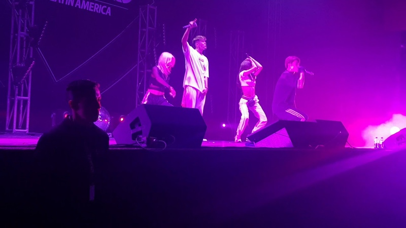 [180908] KARD in Mexico - Mi gente (J Balvin cover)