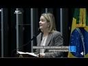 Gleisi Direto do Plenário fala da destruição do Golpe