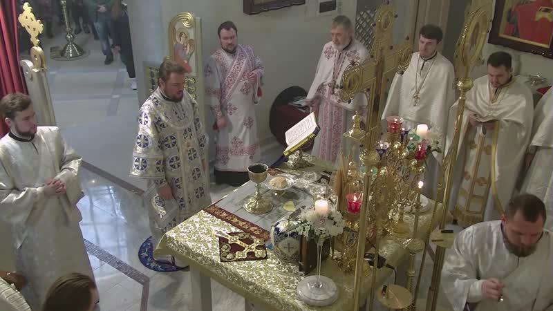 Трансляція богослужіння зі Спасо-Преображенського собору в Києві