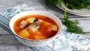 Суп из консервов горбуши с картошкой