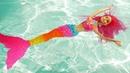 Барби встретила Русалку в Аквапарке - Видео для девочек