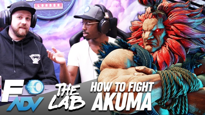 Akuma: The Lab Tutorial by Tyrant and Packz Street Fighter V Arcade Edition
