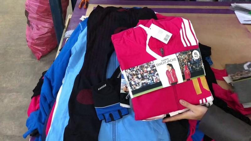 Спортивная одежда сток ( l-adult Sports mix)