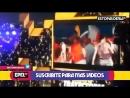 TERRIBLE CAIDA: El FUERTE GOLPE de Natalia Oreiro en los Kids Choice Awards ARG 2018