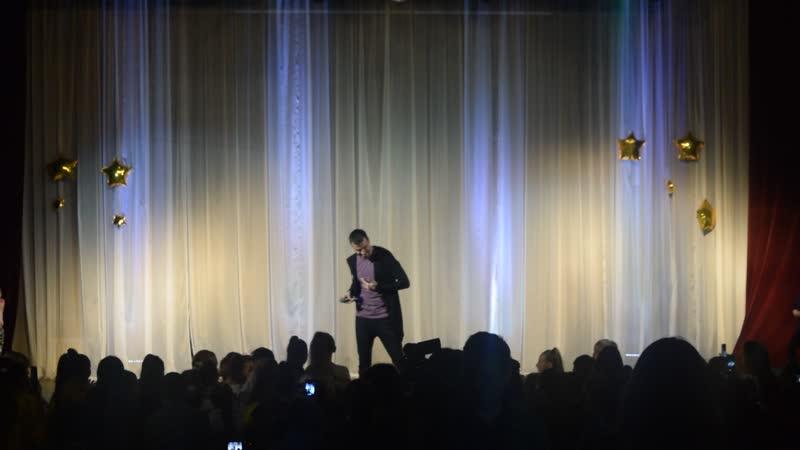 Руслан Масюков На конкурсе Лучший танцор года 2019