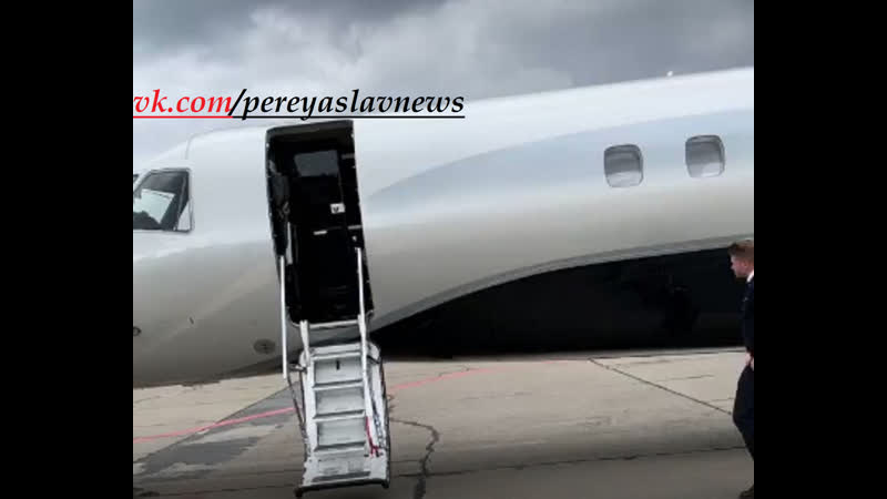 Ці руки руки нічого не крали! - Ющенко заказал на ДР внучке частный самолет с личной стюардессой.