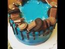 Мужской торт со сладостями