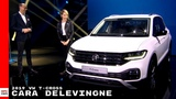 Cara Delevingne With 2019 VW T-Cross