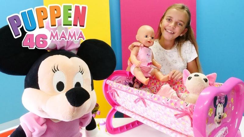 Puppen Mama - Minnie Maus besucht Ayça und Rose
