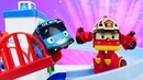 Tayo the toy bus Robocar Poli toys: Toy cars for kids save Tayo.