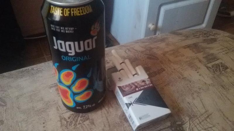 Обзор на Ягуар и сигареты Кент)