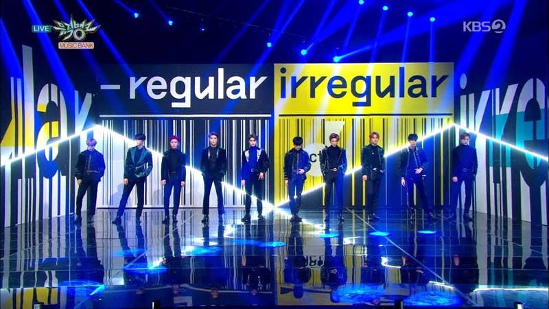 NCT 127 엔시티 127 Comeback Stage 'Regular (Korean Ver.)' KBS MUSIC BANK 2018.10.12