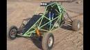 Fun with homemade crosskart buggy
