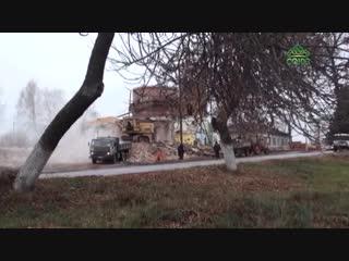 Реконструкция старинного храма Воскресения Христова в Ульяновской области