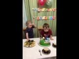 видеоотзыв на тортик Тачки на 2 годика