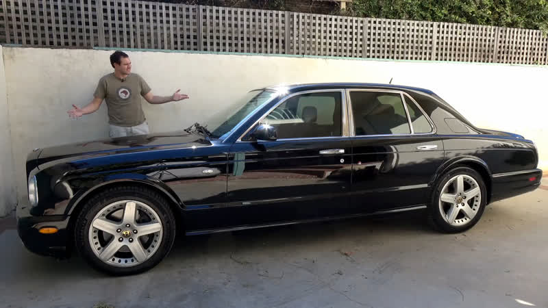 Bentley Arnage - это самая крутая люксовая машина за $30 000