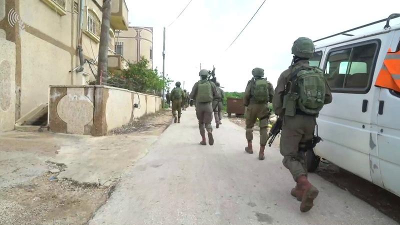 IDF forces search for terrorist near Ariel