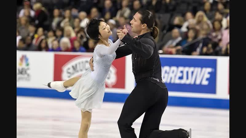 2015 World Figure Skating Pairs SP Yuko KAVAGUTI Alexander SMIRNOV