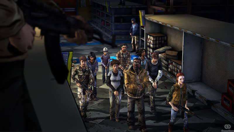 [BlackSilverUFA] The Walking Dead Сезон 2 Эпизод 3 1 - В опасности