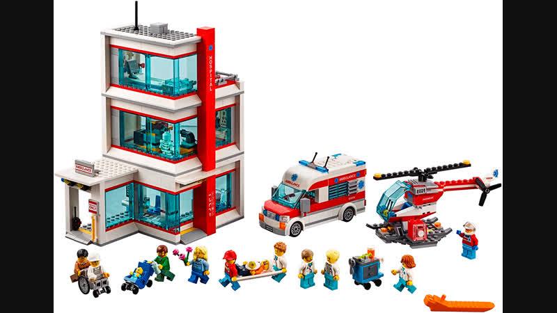 LEGO CITY Больничка 60204