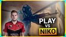 How it feels to play CS:GO against NiKo?