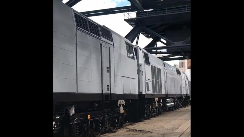 """Регіональна філія Одеська залізницяЗустріли ще 7 тепловозів виробництва «General Electric"""". Далі буде"""
