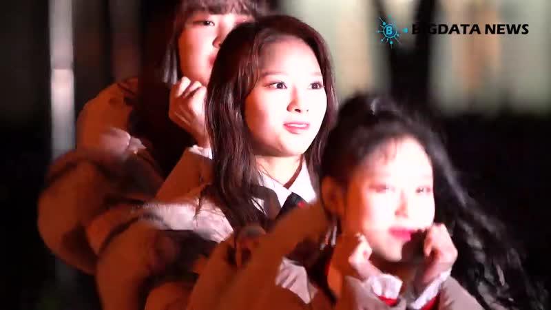 [BIG영상][4K] 플레이버(FLAVOR) 도아 포커스 1월 25일 뮤직뱅크 리허설 출근길