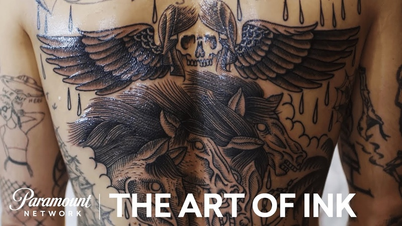 'Etching Tattoos' The Art of Ink Season 2 Digital Exclusive Paramount Network