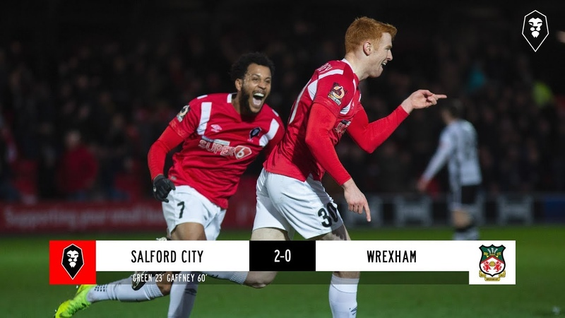 Salford City 2 0 Wrexham The National League 01 01 19