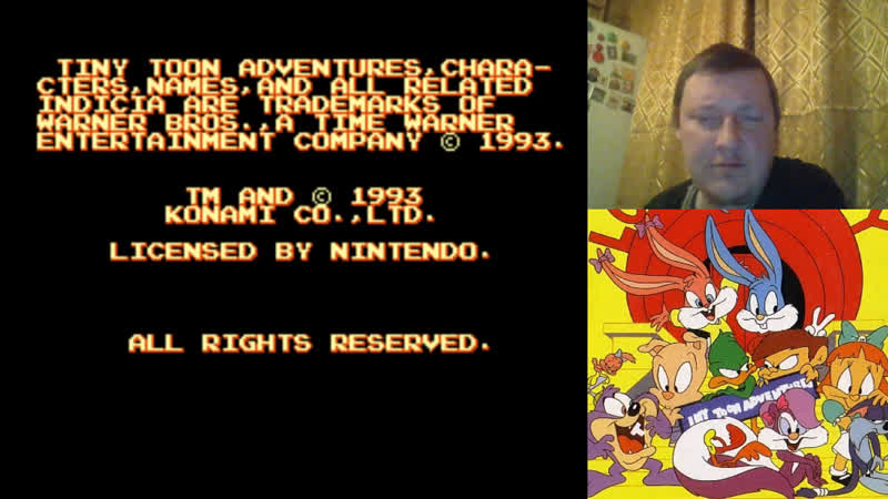 Tiny Toon Adventures - Buster Busts Loose! Snes Super Nintendo (Part5) 18 Опять футбол