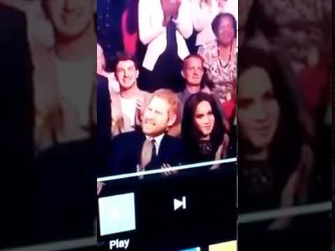 Prince Harry with robot wife meghan markle
