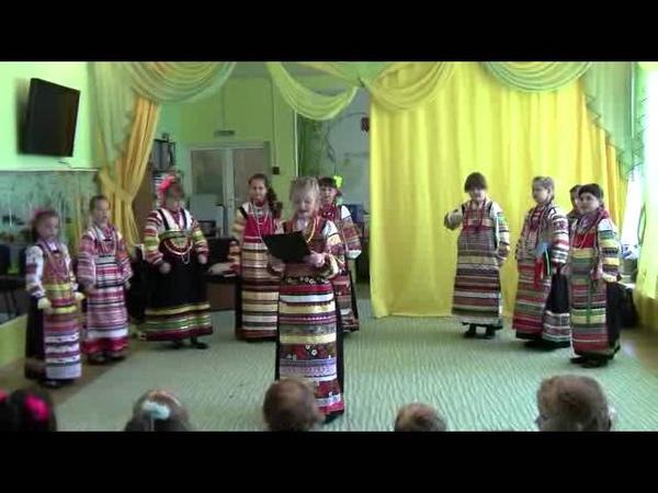 Фольклорный ансамбль Варенька 28.09.2012