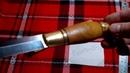 Финский нож . Финка с лошадкой . Finnish knife . Finca with horse.